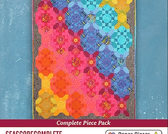 Complete Seascope English Paper Piecing Paper Pack