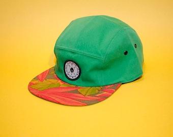 Five panel camp hat by Vulpon