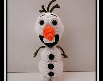 PDF tutorial of Olaf crocheted
