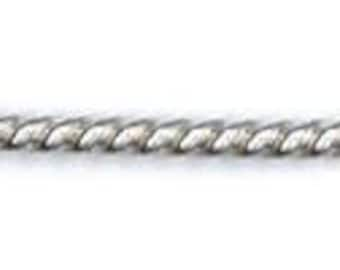 Twist Wire, 925 Sterling Silver, Choice of Gauge, Wire, Findings, Supplies