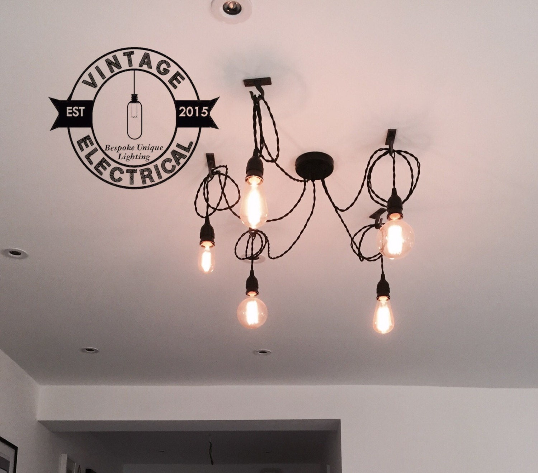 office hanging lights. The Martham 5 X Pendant Drop Light Hanging Lights Ceiling Dining Room Office Kitchen Table E27 Vintage Edison Screw Filament Lamps I