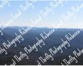 The Skies Meet The Mountains
