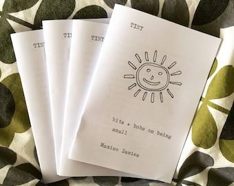 TINY // a mini-pamphlet experimental prose / poetry zine