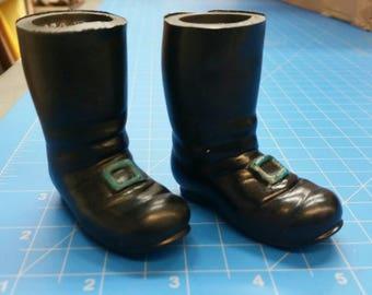 "Rubber Black Boots, 3"", Mangelsen's 161-34 (27)"