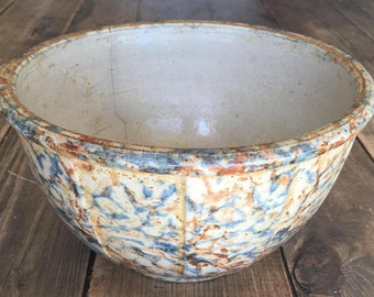 Vintage Unmarked Sponge Ware Bowl