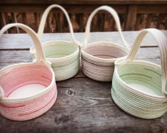 Goosewing gathering basket
