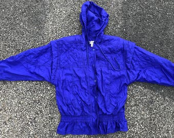 Vintage 90s Royal Quilted Windbreaker