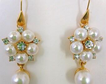 Earrings for Renaissance Necklace, Earrings, Bridal Earrings, Tudor Earrings, Medieval Earrings, Renaissance Jewelry, Tudor Jewelry