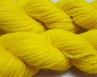 100% Alpaca Yarn, 3 ply Sport, 200 yards