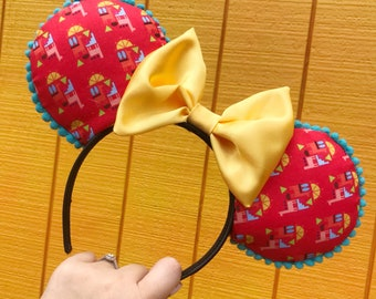 Emperor's New Groove Disney-inspired Mickey Ears