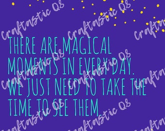 Magical Moments Poster ***INSTANT DOWNLOAD***