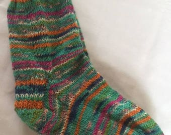Soft Merino Wool Hand Knit Socks (8)