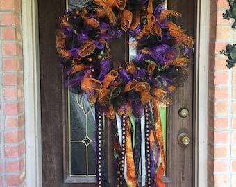 October/ Halloween door wreath