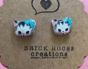 Sweet Kitty Kat Earrings