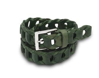 Braided Belts Tondino Medio line Spring
