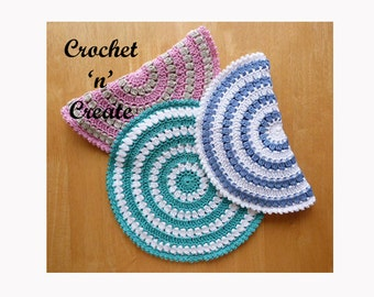 Hot Pad Crochet Pattern (DOWNLOAD) CNC04
