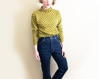 vintage jeans high waisted dark denim lee straight leg size small s 2 4