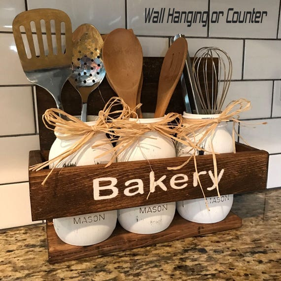 KItchen Decor, Kitchen Wall Decor, Kitchen Utensils, Rustic Kitchen, Rustic Kitchen Decor, Rustic Kitchen Decorations, Home & Living Kitchen