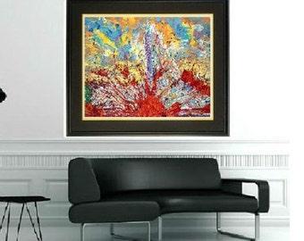 Man cave wall art, Modern wall art, Abstract wall art, contemporay art, modern print,by Johno Prascak