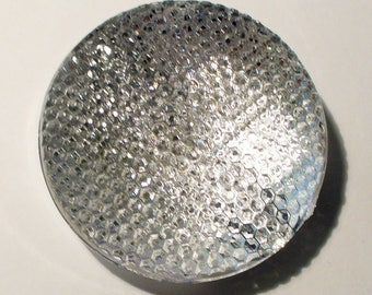 1 Pearl large disc Crystal 40x15mm AP346 lighthouse