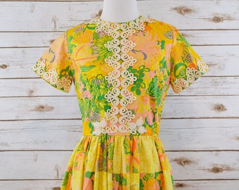 Vintage 60s Lilly Pulitzer Maxi Dress