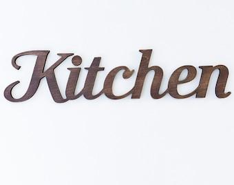 Kitchen signs - wood kitchen sign - rustic kitchen sign - kitchen wooden sign - rustic decor - kitchen wall hanging - wooden kitchen sign