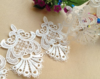 White Lace Edge Trim Vintage Style Lace for Home Decor Satin Trim DIY Accessory Costume Supplies