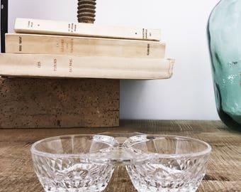 Adorable salt & pepper shakers glass