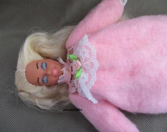 Sleep time Barbie Doll ,Barbie doll,Vintage Barbie doll,1993  Mattel Barbie ,Gift under 25,  Doll baby , Vintage Doll ,Stocking stuffer