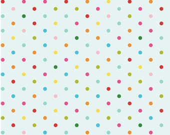 Sunny Happy Skies, Blue Dot 1 yard cut Riley Blake Designs