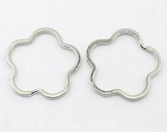 set of 10 cloud nine key rings