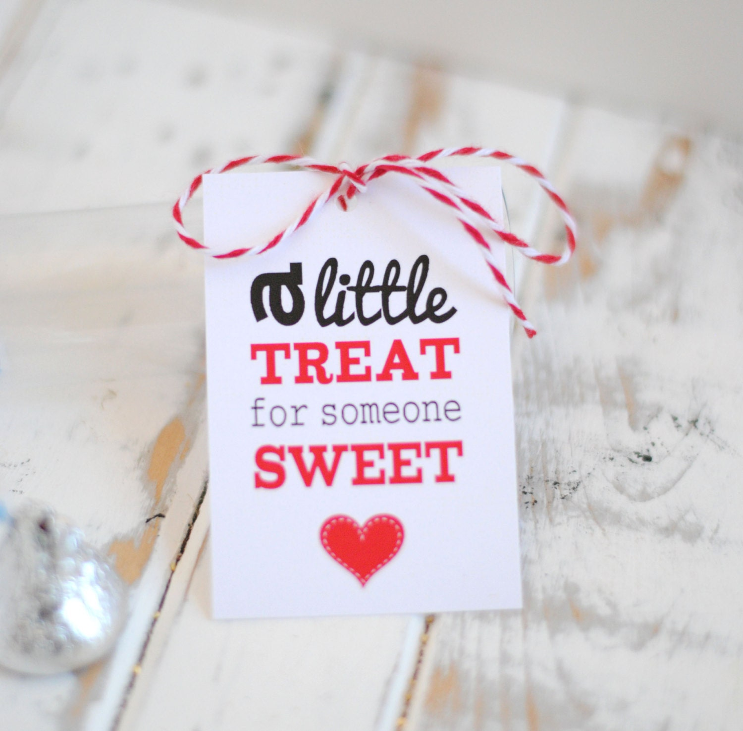 Printable Sweet Treat Valentine's Gift Tags INSTANT