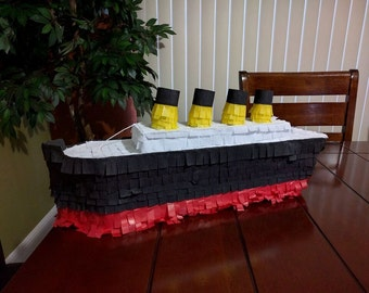 Titanic Ship Piñata