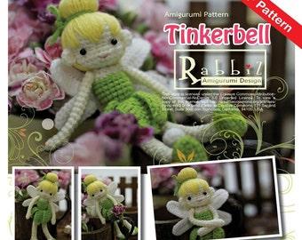 PDF Pattern - Amigurumi Tinkerbell