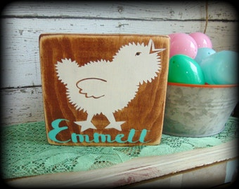 Gift under 20 etsy personalized sign custom name plaque gifts under 20 easter basket filler baby negle Image collections