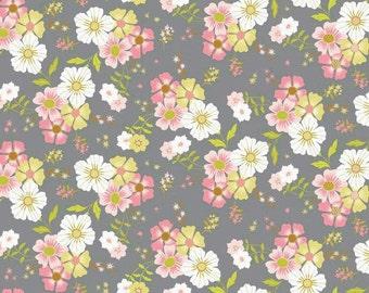 Blend Fabrics • Pippa • Shade garden gray cotton fabric 0.54yd (0,5m)