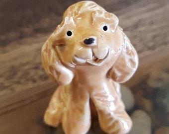 Little Guys Ceramic Labradoodle Figurine