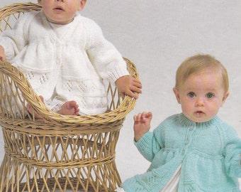 Baby matinee coat PDF vintage knitting pattern baby matinee coats jacket coat jackets INSTANT download pattern only
