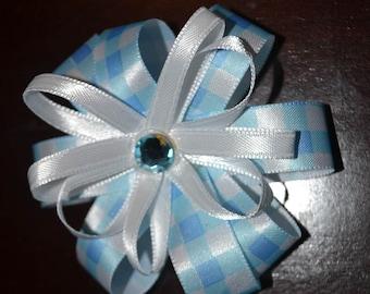 Hair Pretty bow in Blue