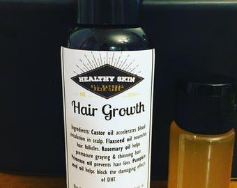 HAIR GROWTH Serum -  For thinning hair. 3 month hair treatment.