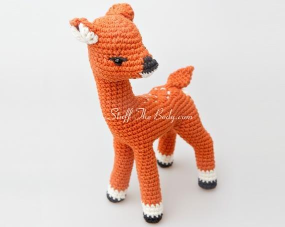 Amigurumi Reindeer Free Pattern : Rudolph the red nosed reindeer free pattern modification