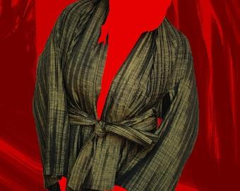 PLEATS - SAN - textile body adornment
