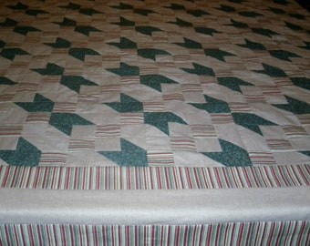 Road To Oklahoma Queen Quilt