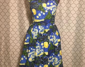 Women's Starry Night Dress