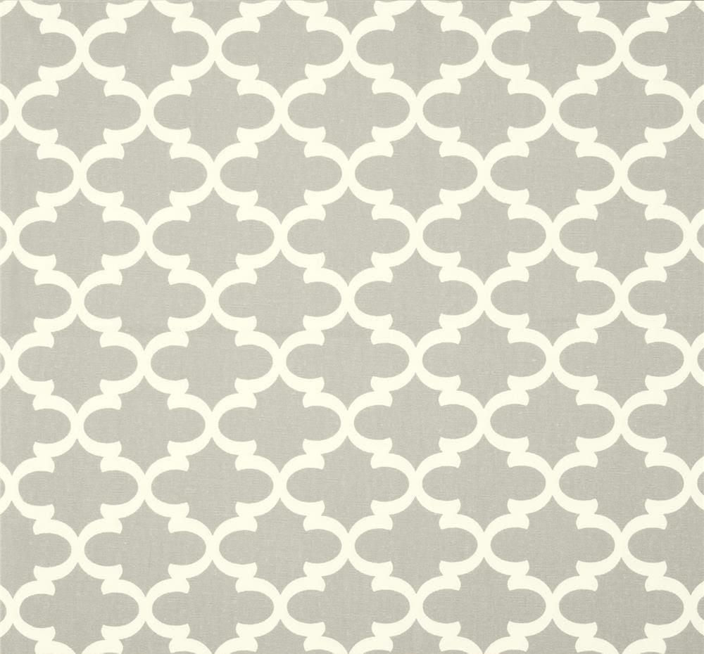 Attrayant Abalone Gray Geometric Fabric Designer Cotton Drapery Fabric Curtain .
