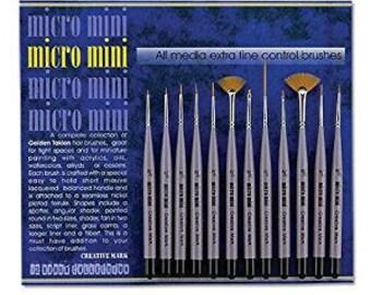 Creative Mark Micro Mini 12 brush set