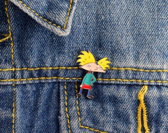 Hey Arnold Enamel Pin