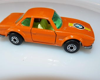 """c1976 Matchbox 75 series, BMW 3.0 CSL, Excellent to Near Mint, Lesney 1976-'81 production,, Bonus """"mystery Die-cast included!"""