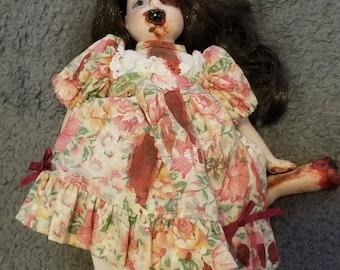 Mini Horror Zombie Doll