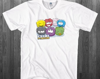 Cute Puffles T-shirt Club Penguin Youth Adult toddler size Tee Shirts